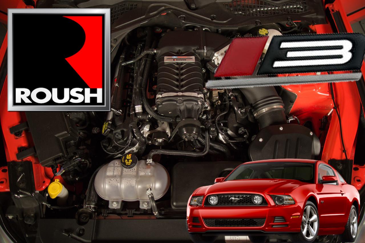 roush phase3 supercharger kit 11 14 mustang gt vector motorsports. Black Bedroom Furniture Sets. Home Design Ideas