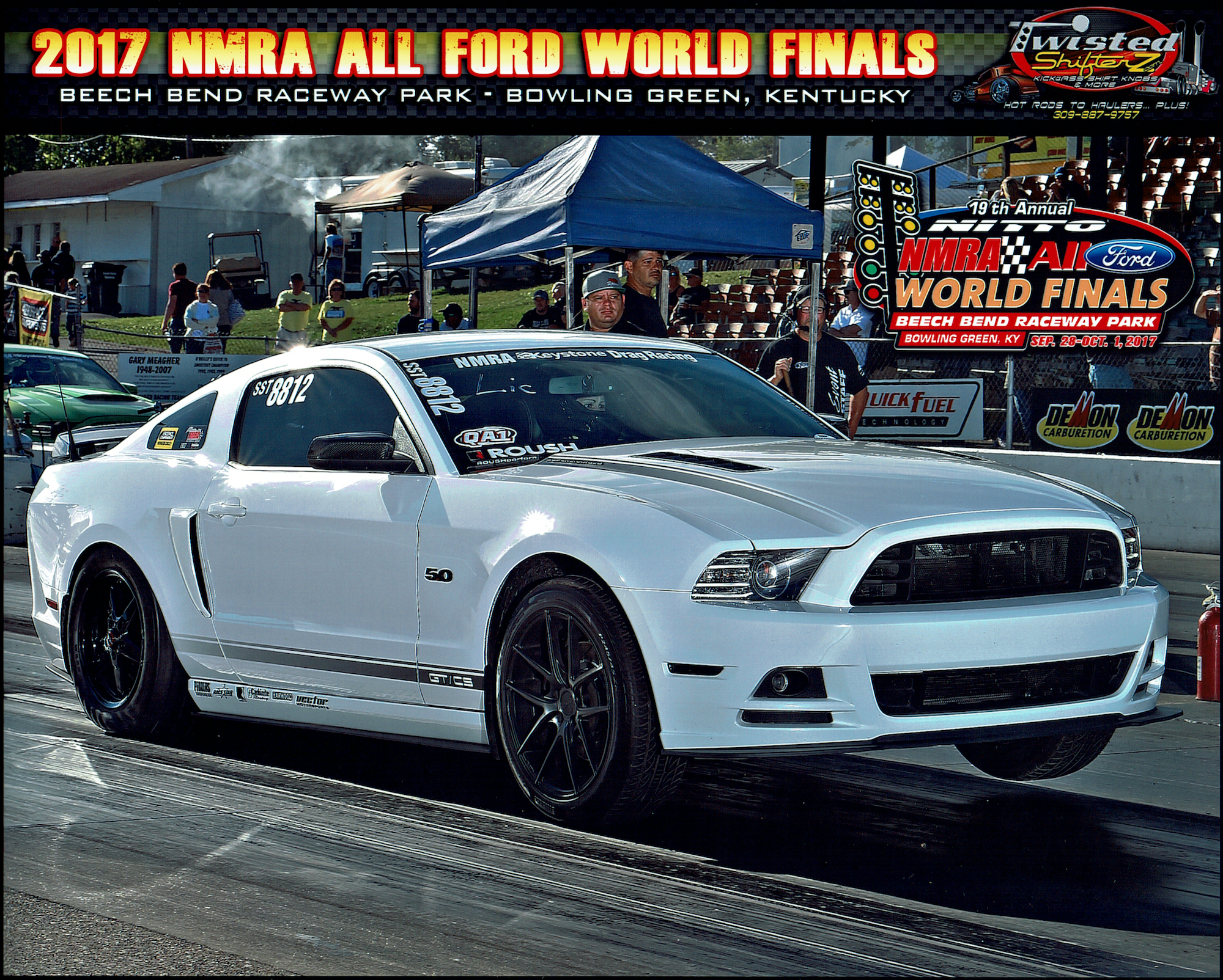 Our Shop Coyote Mustang Breaks Records at NMRA All Ford Nationals at