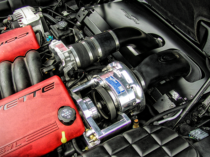 Procharger Kit 01 04 Corvette C5