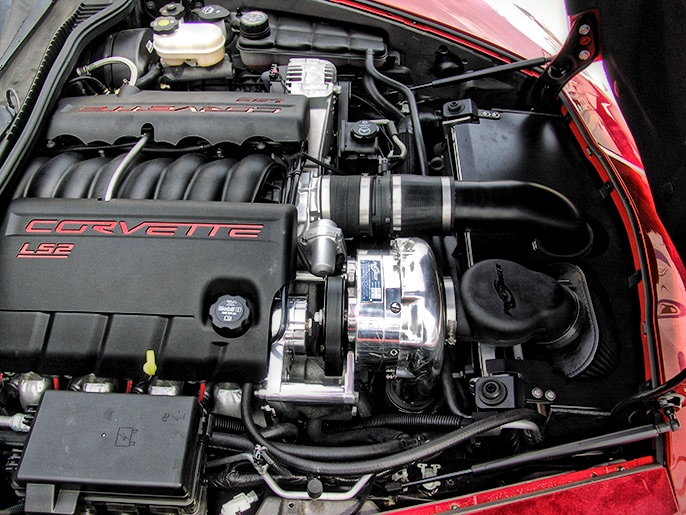 procharger kit 05 07 corvette c6 ls2 vector motorsports. Black Bedroom Furniture Sets. Home Design Ideas